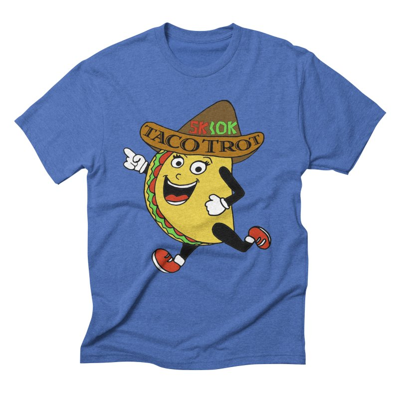 Taco Trot 5K & 10K Men's Triblend T-Shirt by moonjoggers's Artist Shop