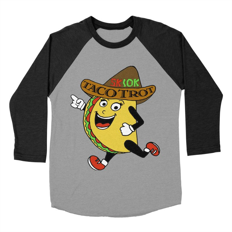 Taco Trot 5K & 10K Women's Baseball Triblend T-Shirt by moonjoggers's Artist Shop