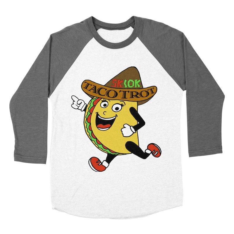 Taco Trot 5K & 10K Men's Baseball Triblend T-Shirt by moonjoggers's Artist Shop
