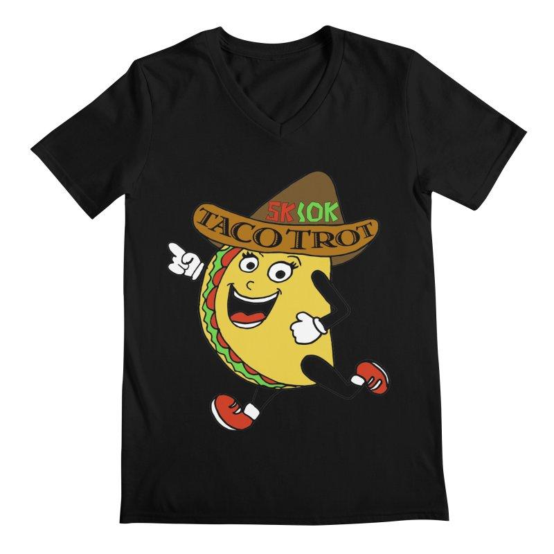 Taco Trot 5K & 10K Men's V-Neck by moonjoggers's Artist Shop