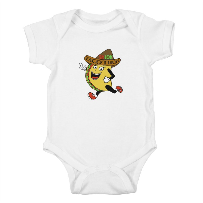 Taco Trot 5K & 10K Kids Baby Bodysuit by moonjoggers's Artist Shop