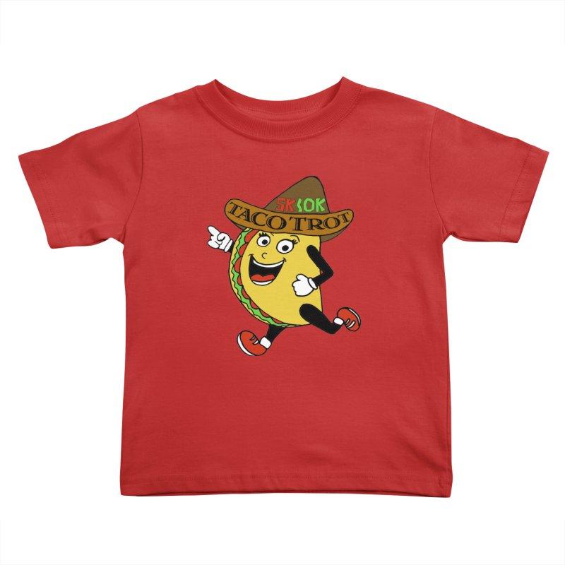 Taco Trot 5K & 10K Kids Toddler T-Shirt by moonjoggers's Artist Shop