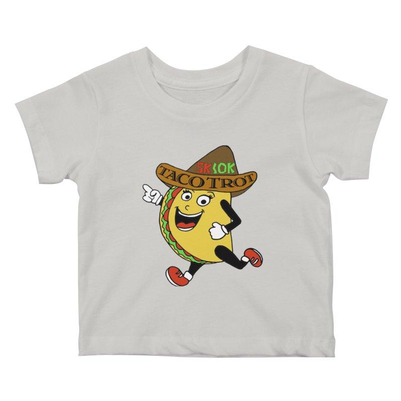 Taco Trot 5K & 10K Kids Baby T-Shirt by moonjoggers's Artist Shop