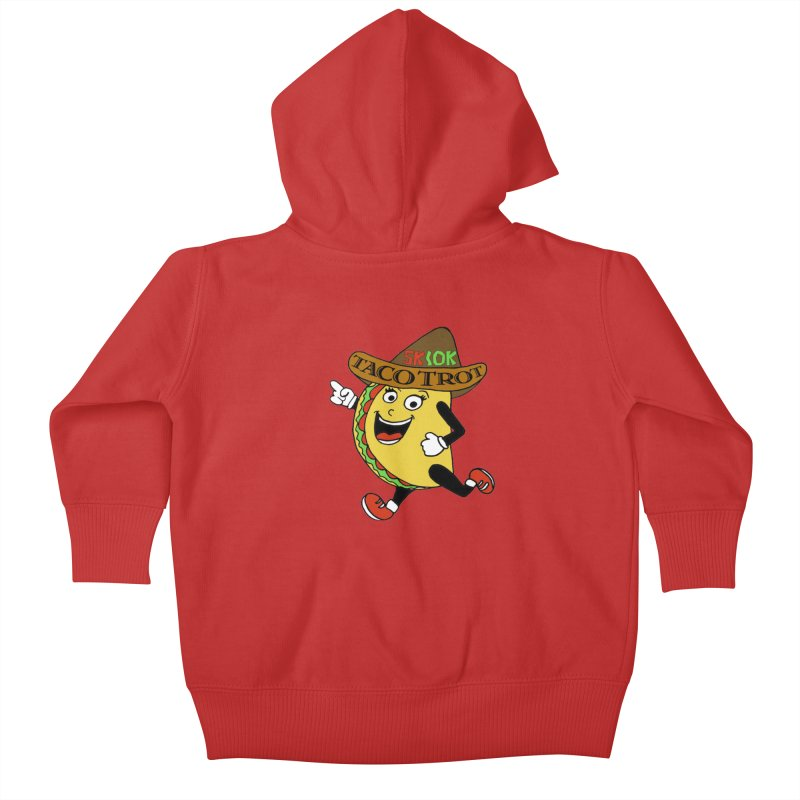 Taco Trot 5K & 10K Kids Baby Zip-Up Hoody by moonjoggers's Artist Shop