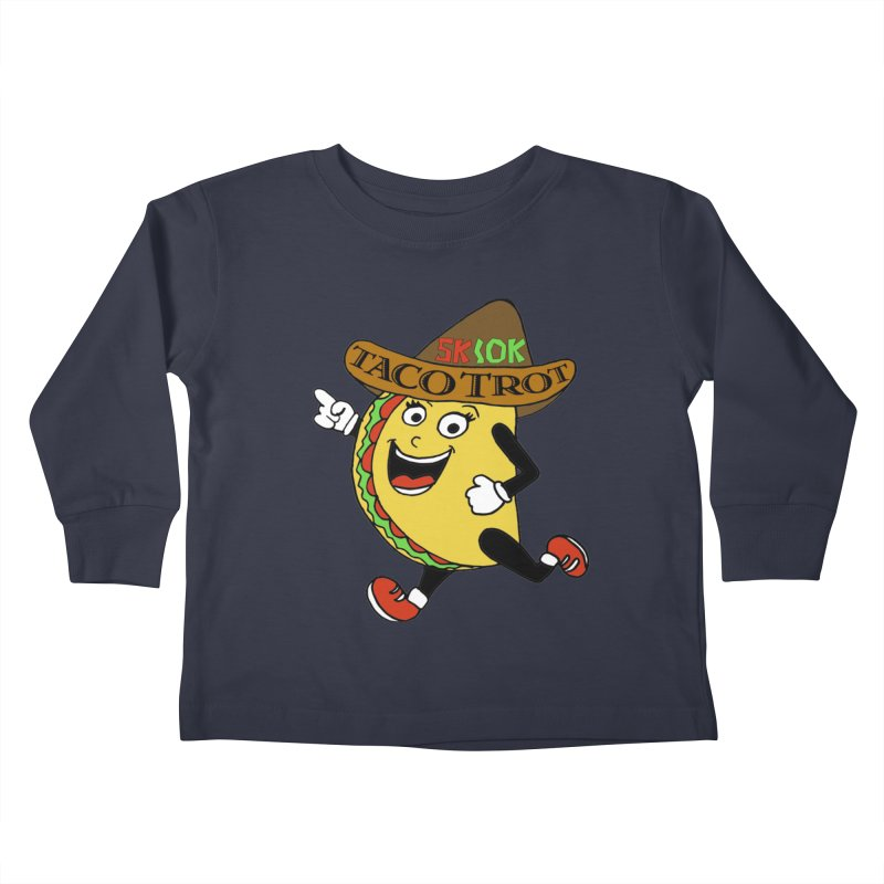 Taco Trot 5K & 10K Kids Toddler Longsleeve T-Shirt by moonjoggers's Artist Shop