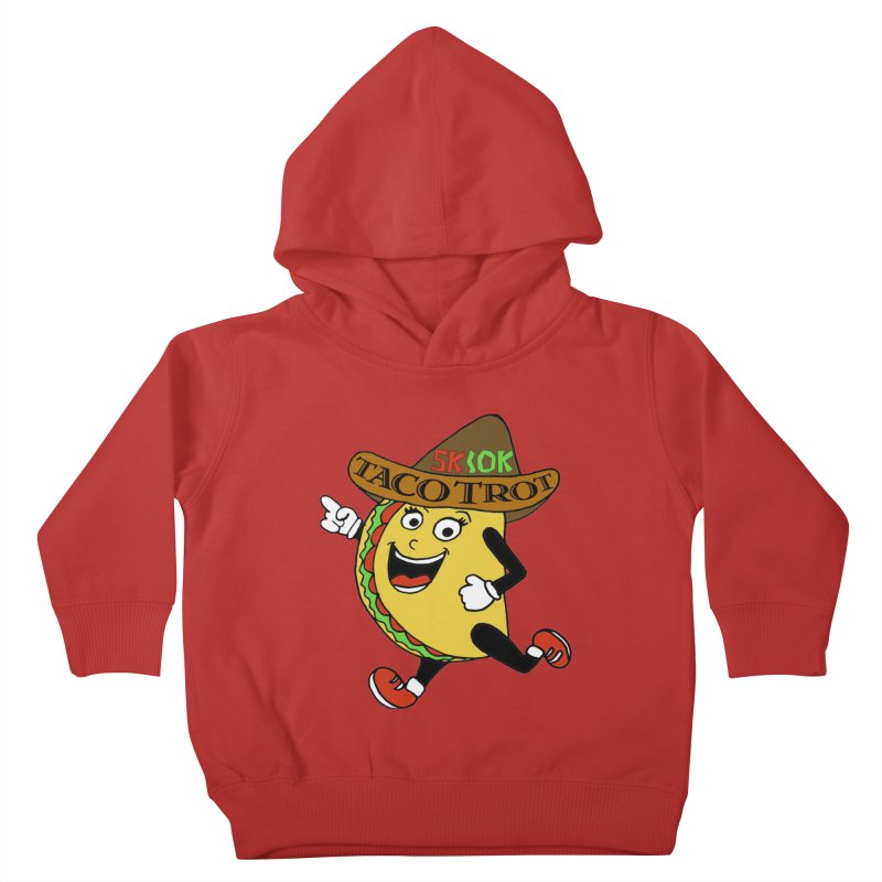 Taco Trot 5K & 10K Kids Toddler Pullover Hoody by moonjoggers's Artist Shop