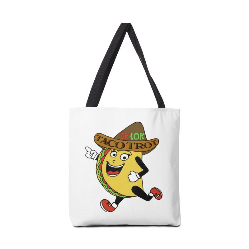 Taco Trot 5K & 10K Accessories Bag by moonjoggers's Artist Shop