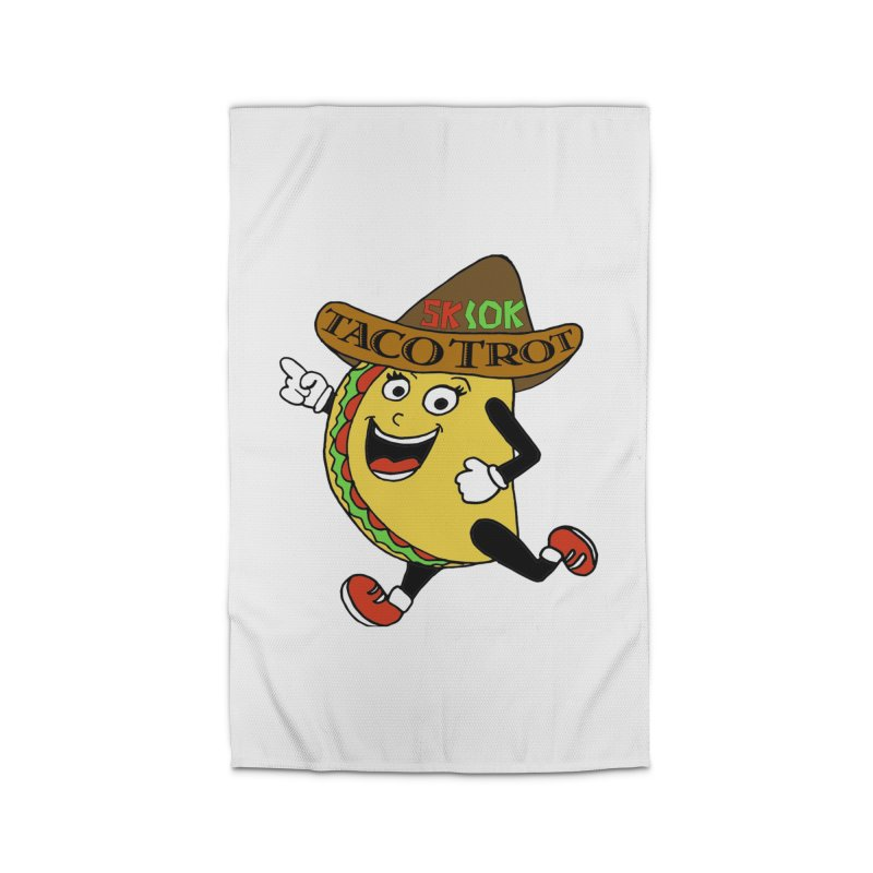 Taco Trot 5K & 10K Home Rug by moonjoggers's Artist Shop