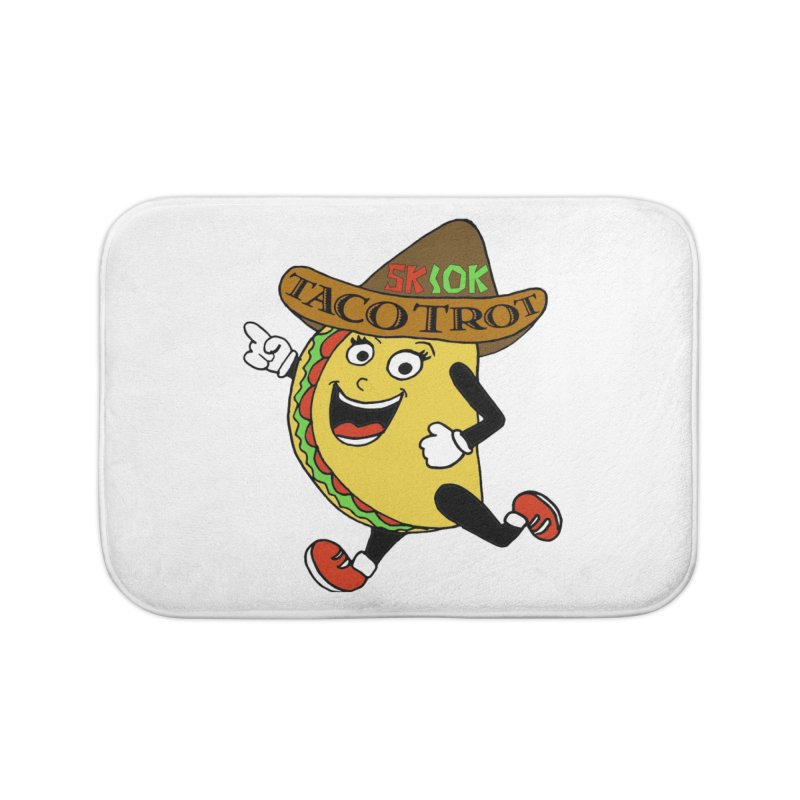 Taco Trot 5K & 10K Home Bath Mat by moonjoggers's Artist Shop