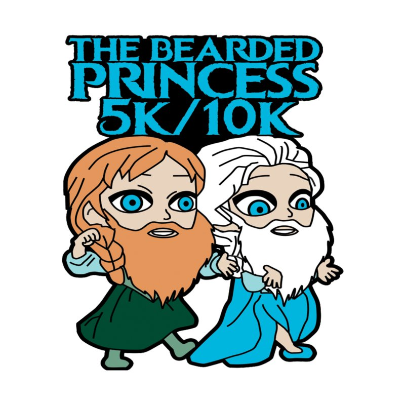 THE BEARDED PRINCESS 5K & 10K: EZRA AND ANSON   by Moon Joggers's Artist Shop