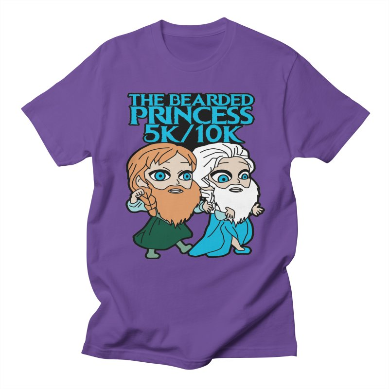 THE BEARDED PRINCESS 5K & 10K: EZRA AND ANSON Women's Unisex T-Shirt by moonjoggers's Artist Shop