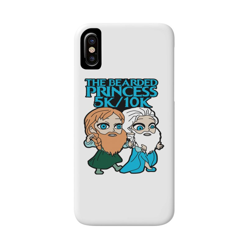 THE BEARDED PRINCESS 5K & 10K: EZRA AND ANSON Accessories Phone Case by moonjoggers's Artist Shop