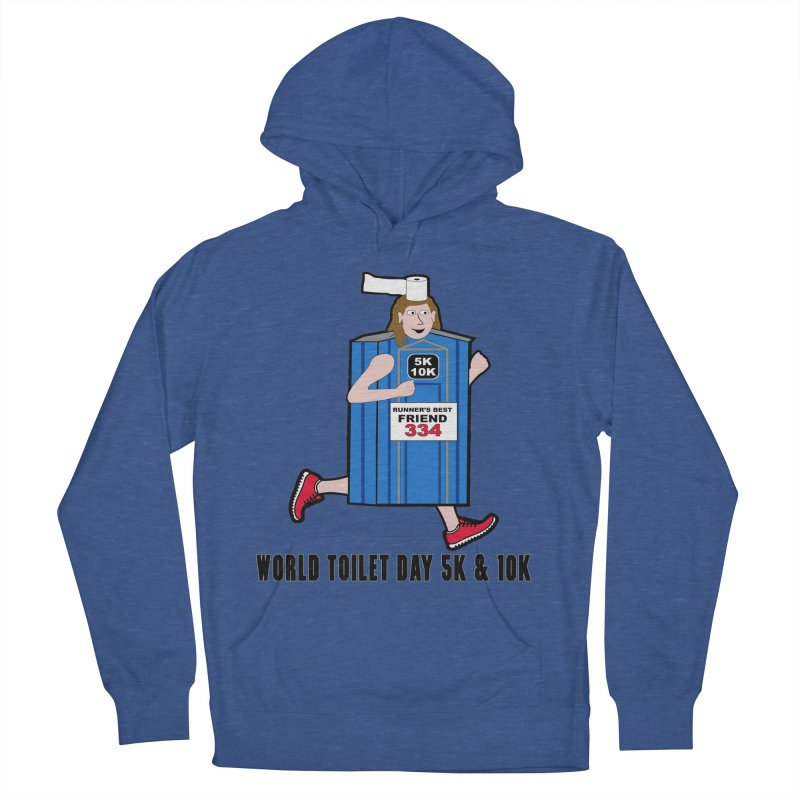 World Toilet Day 5K & 10K: Runner's Best Friend Men's French Terry Pullover Hoody by moonjoggers's Artist Shop