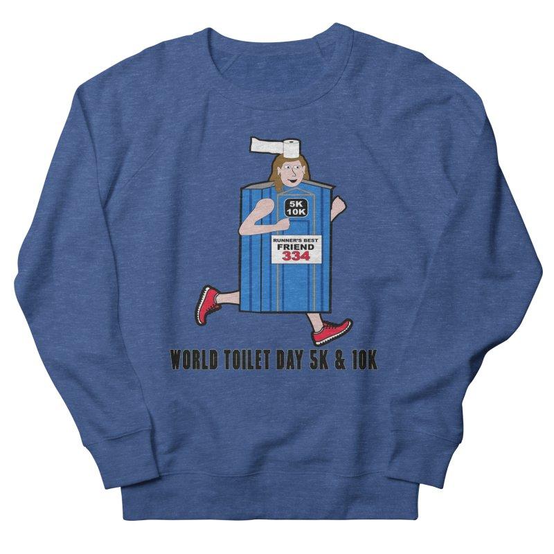 World Toilet Day 5K & 10K: Runner's Best Friend Women's Sweatshirt by moonjoggers's Artist Shop