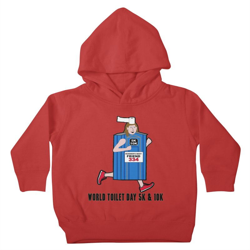 World Toilet Day 5K & 10K: Runner's Best Friend Kids Toddler Pullover Hoody by moonjoggers's Artist Shop