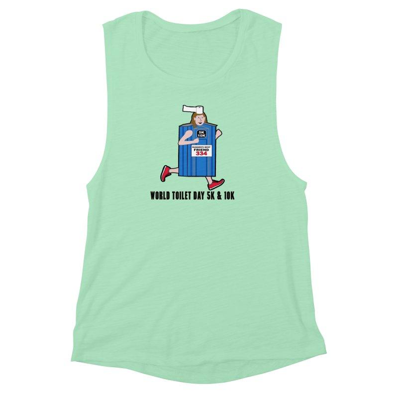 World Toilet Day 5K & 10K: Runner's Best Friend Women's  by moonjoggers's Artist Shop