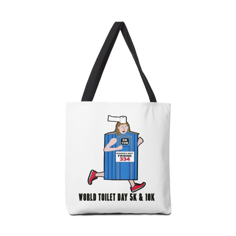 World Toilet Day 5K & 10K: Runner's Best Friend Accessories Bag by moonjoggers's Artist Shop