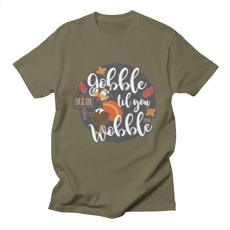 Gobble Til You Wobble 5K & 10K Men's T-Shirt by moonjoggers's Artist Shop