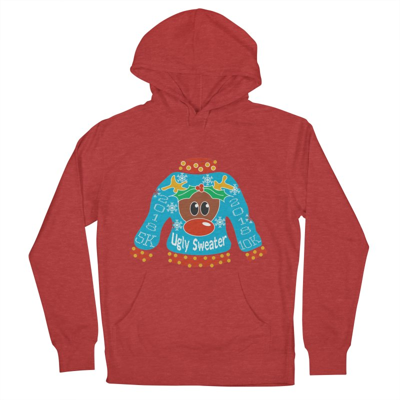 Ugly Sweater 5K & 10K Men's Pullover Hoody by moonjoggers's Artist Shop