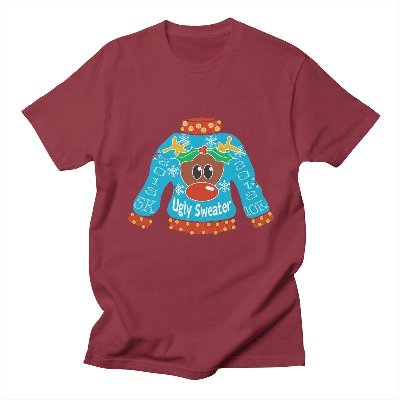 Ugly Sweater 5K & 10K Women's Regular Unisex T-Shirt by moonjoggers's Artist Shop