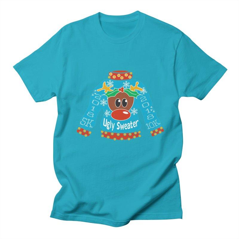Ugly Sweater 5K & 10K Men's T-Shirt by moonjoggers's Artist Shop