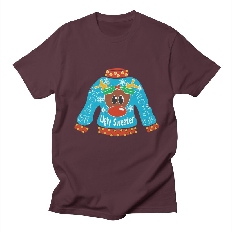 Ugly Sweater 5K & 10K Women's Unisex T-Shirt by moonjoggers's Artist Shop