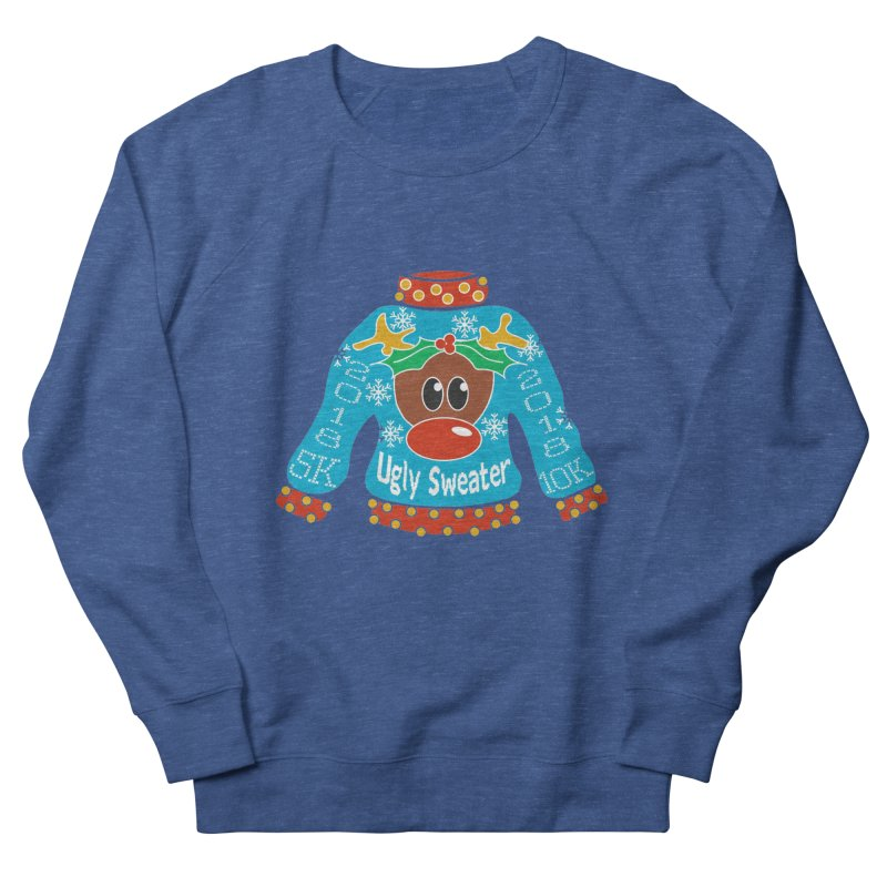 Ugly Sweater 5K & 10K Women's Sweatshirt by moonjoggers's Artist Shop