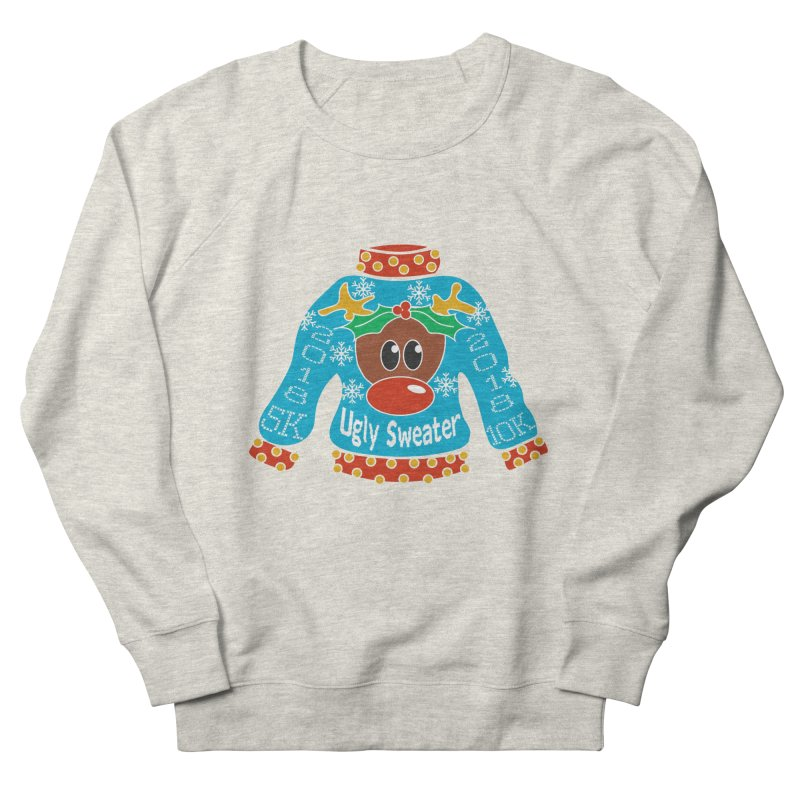 Ugly Sweater 5K & 10K Women's French Terry Sweatshirt by moonjoggers's Artist Shop