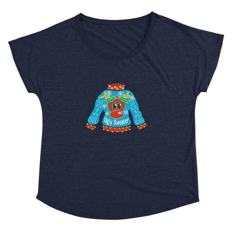 Ugly Sweater 5K & 10K Women's Dolman Scoop Neck by moonjoggers's Artist Shop