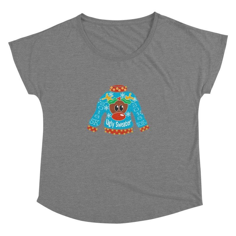 Ugly Sweater 5K & 10K Women's Dolman by moonjoggers's Artist Shop