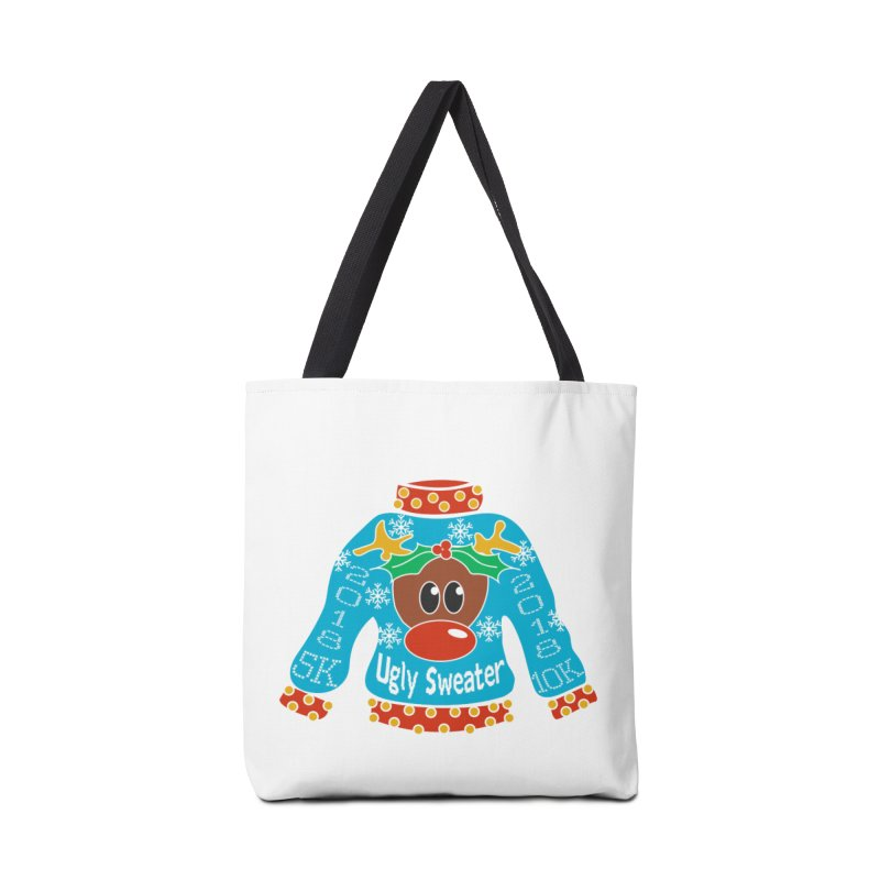 Ugly Sweater 5K & 10K Accessories Bag by moonjoggers's Artist Shop