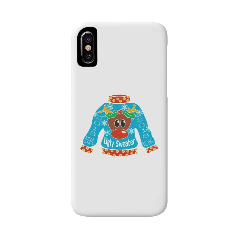 Ugly Sweater 5K & 10K Accessories Phone Case by moonjoggers's Artist Shop
