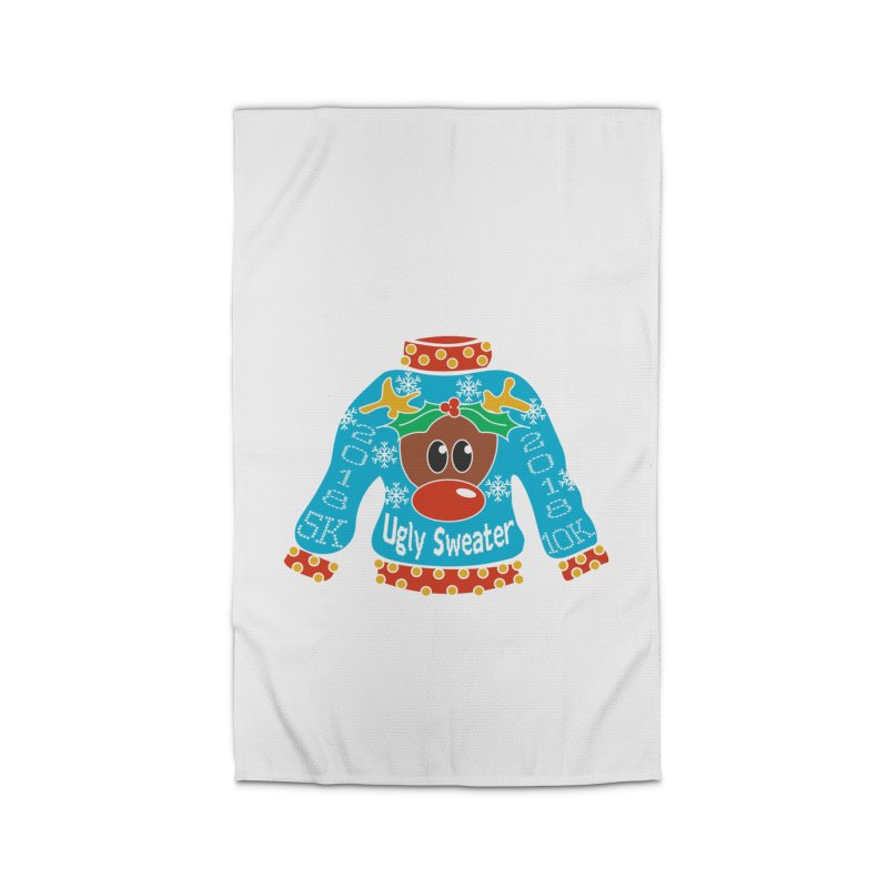 Ugly Sweater 5K & 10K Home Rug by moonjoggers's Artist Shop