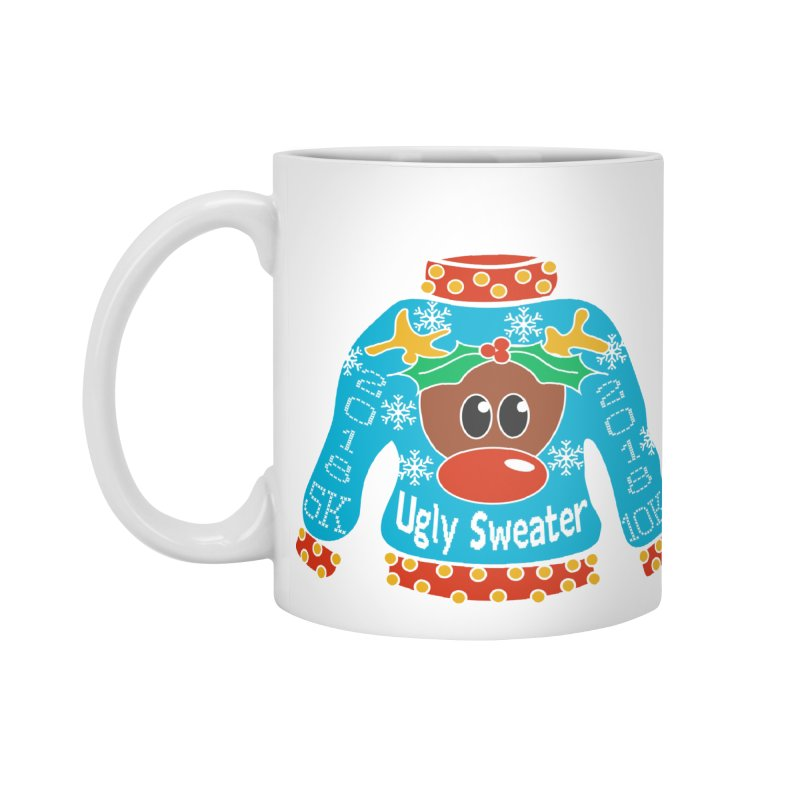Ugly Sweater 5K & 10K Accessories Mug by moonjoggers's Artist Shop