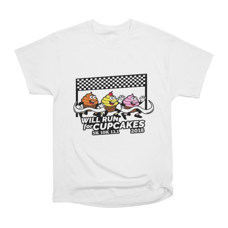 Cupcake Day 5K, 10K, 13.1 - Will Run For Cupcakes Women's  by moonjoggers's Artist Shop