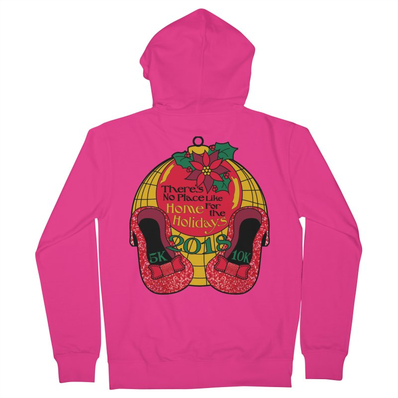 There's No Place Like Home for the Holidays 5K & 10K Men's Zip-Up Hoody by moonjoggers's Artist Shop