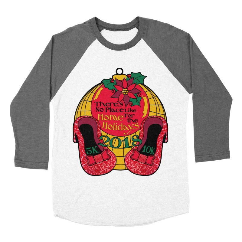 There's No Place Like Home for the Holidays 5K & 10K Women's Baseball Triblend Longsleeve T-Shirt by moonjoggers's Artist Shop