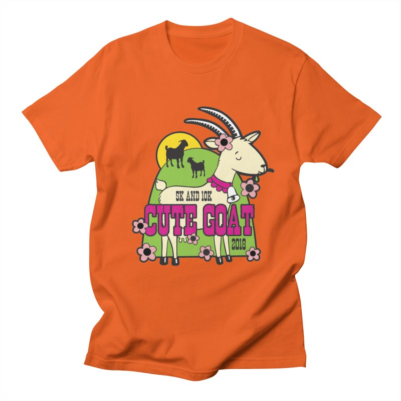 Cute Goat 5K & 10K Men's  by moonjoggers's Artist Shop