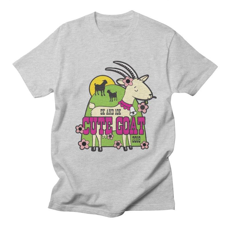 Cute Goat 5K & 10K Women's Regular Unisex T-Shirt by moonjoggers's Artist Shop