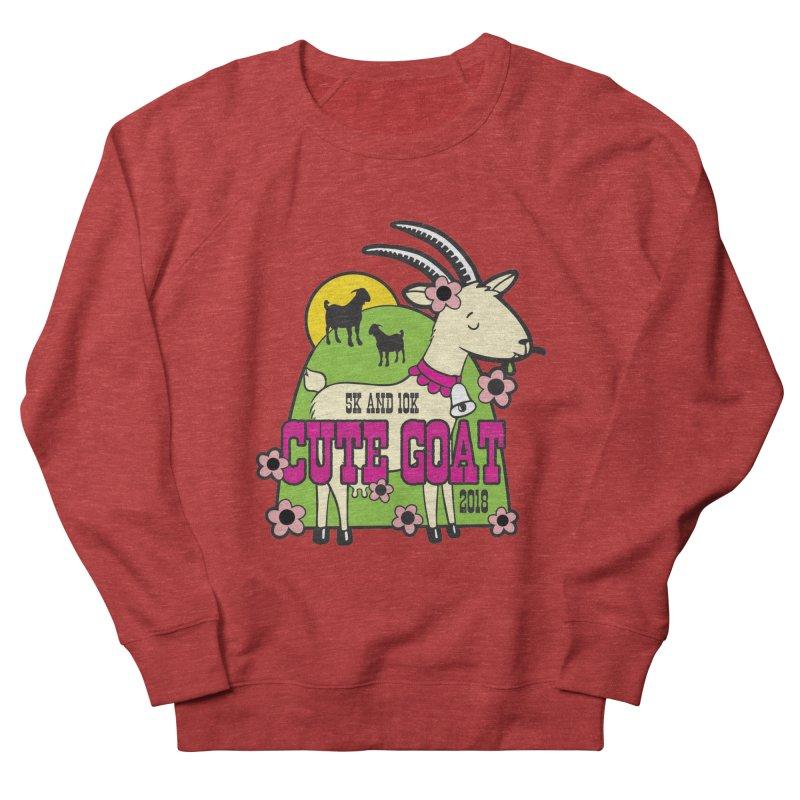 Cute Goat 5K & 10K Women's French Terry Sweatshirt by moonjoggers's Artist Shop
