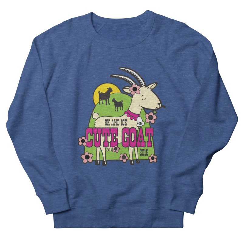 Cute Goat 5K & 10K Men's French Terry Sweatshirt by moonjoggers's Artist Shop