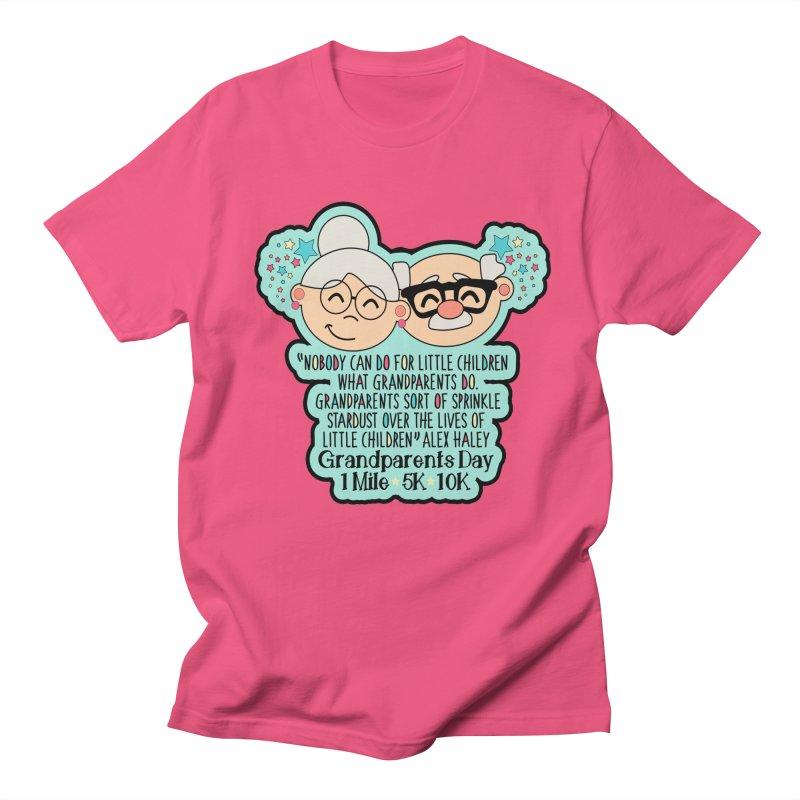 Grandparents Day 1 Mile, 5K & 10K Men's T-Shirt by Moon Joggers's Artist Shop