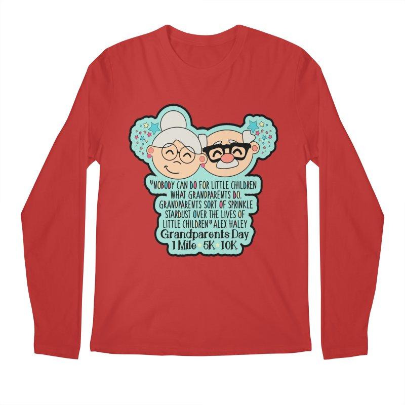 Grandparents Day 1 Mile, 5K & 10K Men's Regular Longsleeve T-Shirt by moonjoggers's Artist Shop