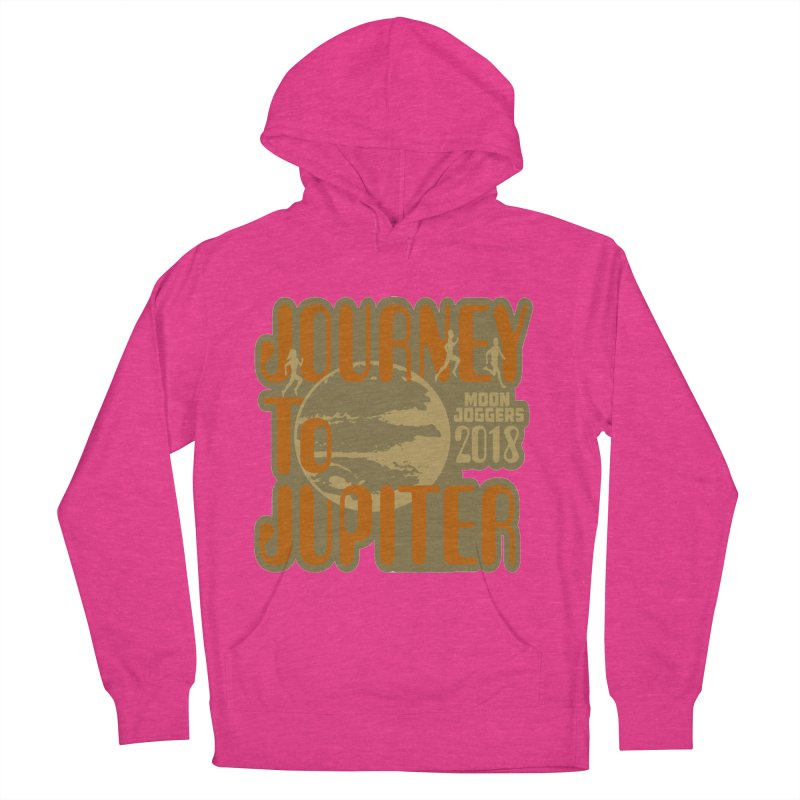 Journey To Jupiter 2018: Running and Walking Challenge Men's French Terry Pullover Hoody by moonjoggers's Artist Shop
