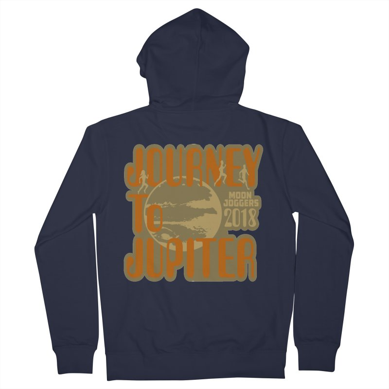 Journey To Jupiter 2018: Running and Walking Challenge Men's French Terry Zip-Up Hoody by moonjoggers's Artist Shop