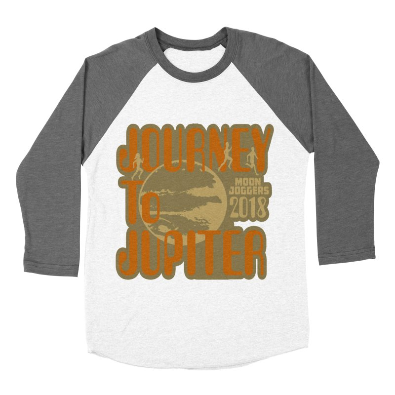 Journey To Jupiter 2018: Running and Walking Challenge Women's Baseball Triblend Longsleeve T-Shirt by moonjoggers's Artist Shop