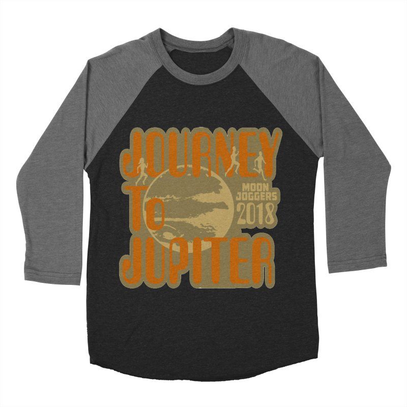 Journey To Jupiter 2018: Running and Walking Challenge Women's Baseball Triblend Longsleeve T-Shirt by moonjoggers's Artist Shop