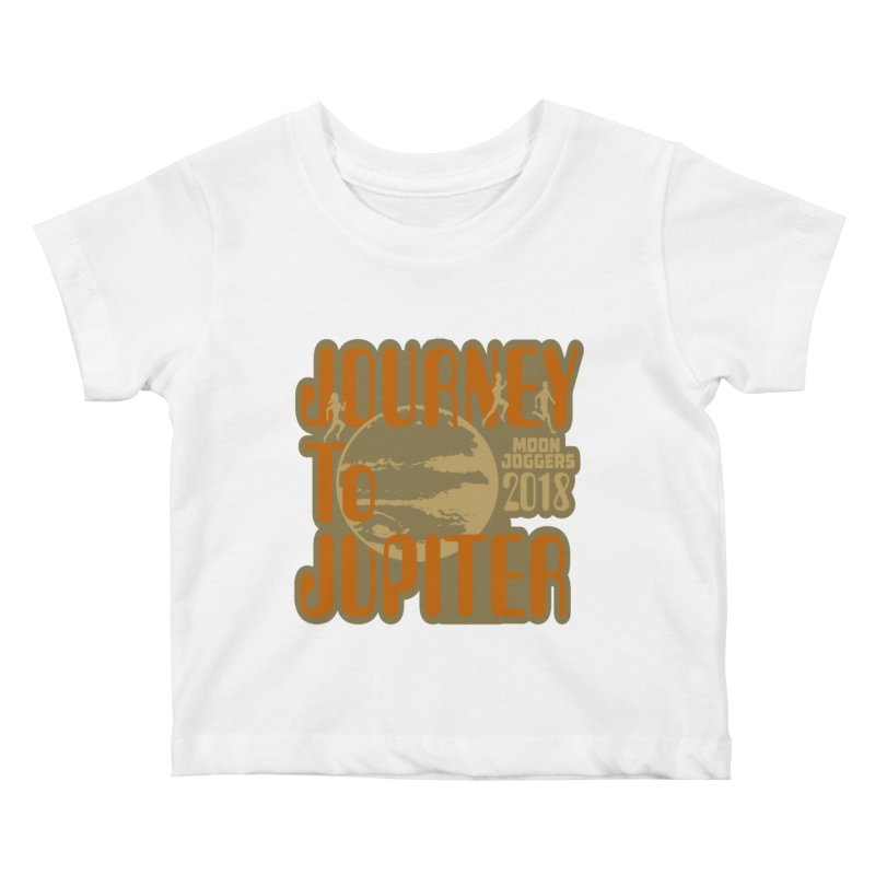 Journey To Jupiter 2018: Running and Walking Challenge Kids Baby T-Shirt by moonjoggers's Artist Shop