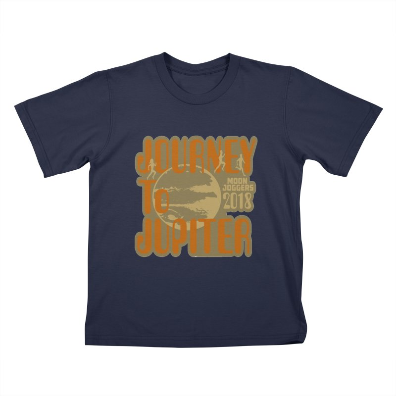 Journey To Jupiter 2018: Running and Walking Challenge Kids T-Shirt by moonjoggers's Artist Shop