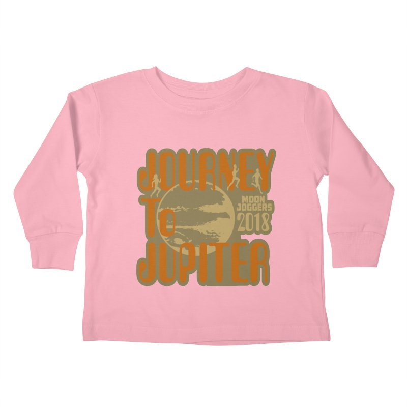 Journey To Jupiter 2018: Running and Walking Challenge Kids Toddler Longsleeve T-Shirt by moonjoggers's Artist Shop